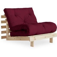 KARUP DESIGN canapé lit Roots, avec matelas futon, surface de couchage 90x200 cm