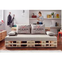 EXXPO - SOFA FASHION canapé lit, avec fonction lit et espace de rangement, en option relevable le bloc ressorts