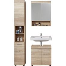 TRENDTEAM set de meubles salle bain Runner, lot 3, avec des façades structurées