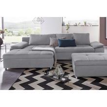 SIT & MORE canapé d'angle Labene, avec fonction lit et espace de rangement en option