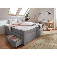 INOSIGN couchette Lit boxspring, coussins décoratifs et tiroirs inclus