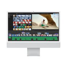 "APPLE iMac with 4.5K Retina display - Alles-in-één M1 RAM 8 GB SSD 256 7-core GPUWLAN: Bluetooth 5.0, 802.11a/b/g/n/ac/ax macOS Big Sur 11.0 monitor: LED 24"" 4480x 2520 (4.5K) toetsenbord: Frans zilver"
