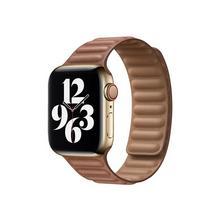 APPLE 40mm Leather Link - Horlogebandje voor smart watch maat M/L lederbruin (38 mm, 40 mm)