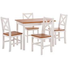 HOME AFFAIRE ensemble de salle à manger, lot 5, avec petite ou grande table