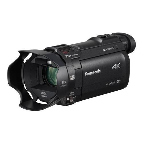 PANASONIC HC-VXF990 - Caméscope 4K / 25 pi/s 18.91 MP 20x zoom optique Leica carte Flash Wi-Fi noir