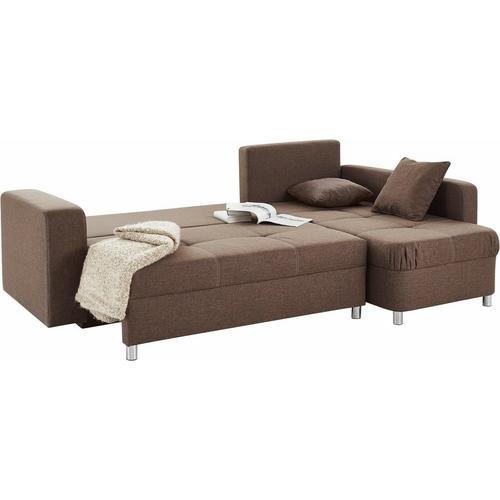 JOCKENHOFER GRUPPE canapé d'angle, avec fonction lit et caisson de