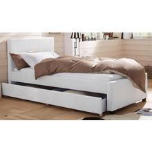 HOME AFFAIRE lit rembourré Maja, en différentes tailles de lit, deux belles variations couleurs
