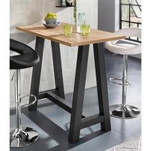 table de bar, Piétement en forme A (largeur 120 cm)