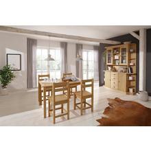 HOME AFFAIRE table de salle à manger Indra, en pin massif, avec ou sans rallonge au choix
