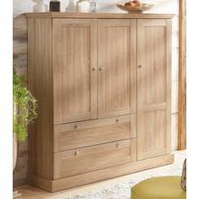 HOME AFFAIRE armoire multifonctions Binz, dans un bel aspect de bois sur feuilles. avec beaucoup d'espace stockage