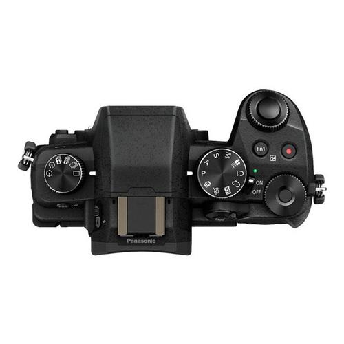 PANASONIC Lumix G DMC-G80M - Appareil photo numérique sans miroir 16.0 MP Quatre tiers 4K / 30 pi/s 5x zoom optique objectif 12 60 mm Wi-Fi noir
