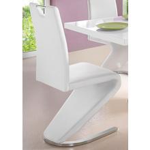 HOMEXPERTS chaise en porte-à-faux Zora, lot de 2, (2 pièces) Dossier avec poignée pour une rétraction facile
