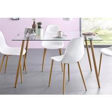 table en verre, Largeur 140 cm