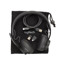 LOGITECH Zone Wired MSFT Teams - Micro-casque sur-oreille filaire USB-C graphite Certifié pour Microsoft