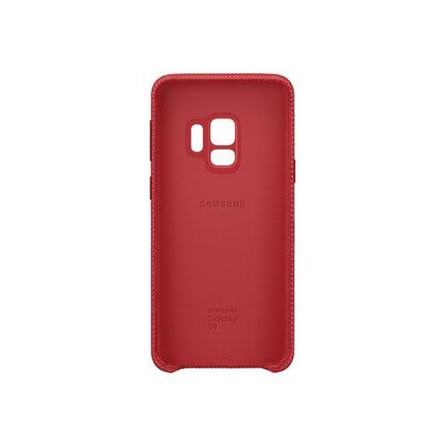 SAMSUNG Hyperknit Cover EF-GG960 - Coque de protection pour téléphone portable rouge Galaxy S9, S9 Deluxe Edition