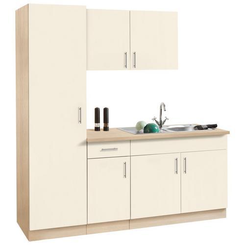WIHO KUCHEN bloc de cuisine Kiel, sans appareils électriques, largeur 190 cm, profondeur 60 cm