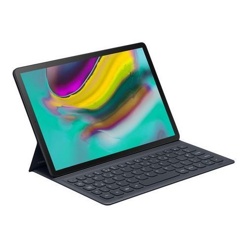 SAMSUNG Book Cover Keyboard EJ-FT720 - Toetsenbord en foliobehuizing POGO pin zwart voor Galaxy Tab S5e