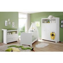 set complet pour chambre de bébé Trend, lot 3, Lit + commode à langer 3 portes Armoire