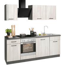 WIHO KUCHEN bloc de cuisine Esbo, sans appareil électrique, largeur : 220 cm