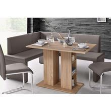 HOMEXPERTS banc d'angle Mulan, chaise longue 165 cm, option droite ou gauche, housseen cuir synthétique