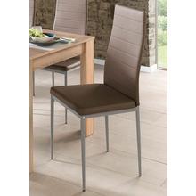 HOMEXPERTS chaise de salle à manger Pegasus, lot 2, (2 ou 4 pièces), housse en cuirsynthétique