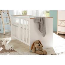 lit bébé Jonas, avec barreaux amovibles