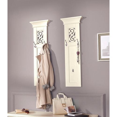 HOME AFFAIRE panneau de garde-robe Arabeske, en set 2, avec beaux ornements, largeur par 30 cm