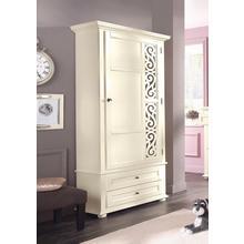 HOME AFFAIRE garde-robe Arabeske, avec un beau motif décoratif sur la porte