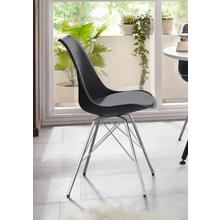 HOMEXPERTS stoel met komvormige zitkuip, 2-delig