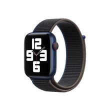 APPLE 44mm Sport Loop - Bracelet de montre pour intelligente taille Regular Charbon Watch (42 mm, 44 mm)