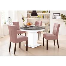 table de salle à manger, avec fonction glissière en 2 tailles