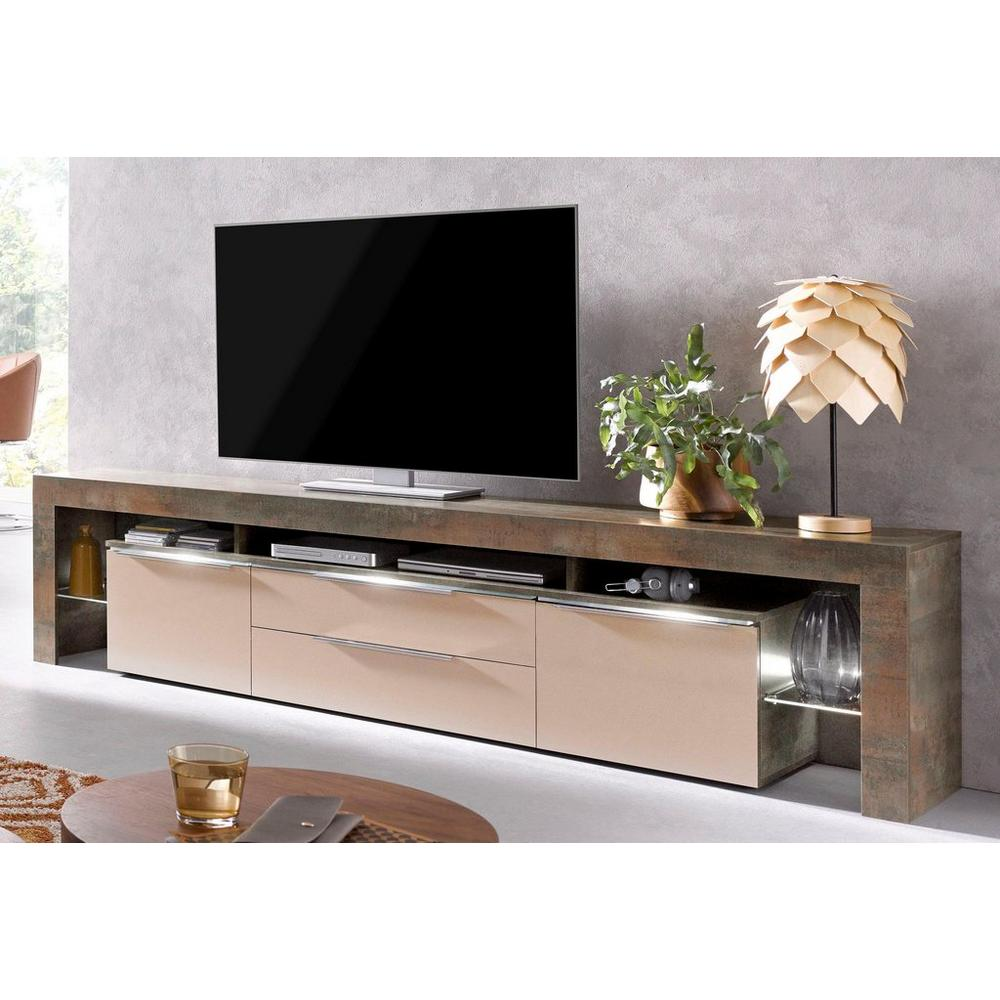 Places Of Style Buffet Bas Lima Largeur 220 Cm Meubles Tv Unigro Be