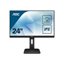 "AOC 24P1 - LED-monitor 23.8"" (23.8"" zichtbaar) 1920 x 1080 Full HD (1080p) @ 60 Hz IPS 250 cd/m² 1000:1 5 ms HDMI, DVI, DisplayPort, VGA luidsprekers"