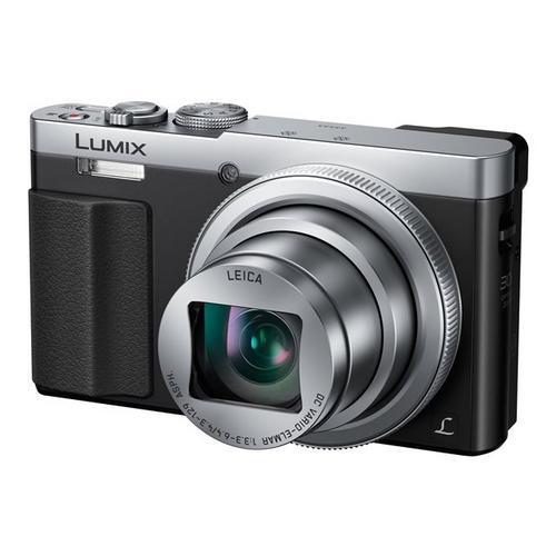 PANASONIC Lumix DMC-TZ70 - Appareil photo numérique compact 12.1 MP 30x zoom optique Leica Wi-Fi, NFC argent