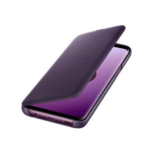 Samsung LED View Cover EF-NG960 - Flip voor mobiele telefoon violet Galaxy S9, S9 Deluxe Edition