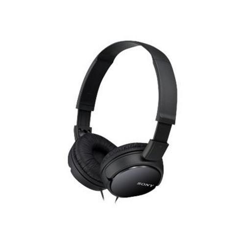 Sony MDR-ZX110 - Koptelefoon over oor met bekabeling 3,5 mm-stekker zwart