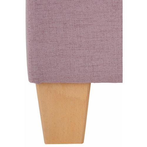 HOME AFFAIRE Lit boxspring Fargo, avec un couvre-matelas, en 3 types de matelas, 2 degrés fermeté, plusieurs couleurs