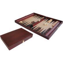 Backgammon 35x24cm hout ingelegd van BUFFALO