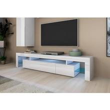 PLACES OF STYLE lowboard Lima, 189 cm, push-to-openfunctie, design-rand-look