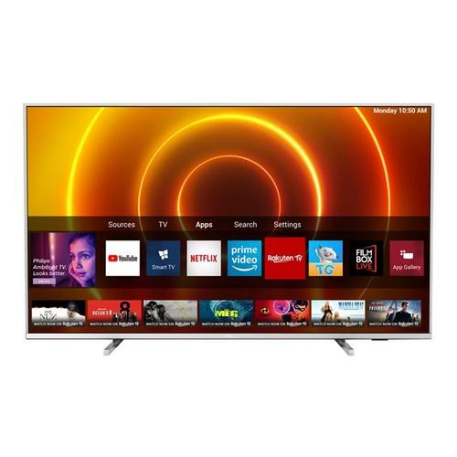 Ultra HD/4K smart led-tv met 3-zijdig Ambilight 108 cm PHILIPS 43PUS7855/12