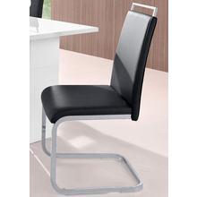 HOMEXPERTS chaise de salle à manger Corona, lot 4, (2 ou 4 pièces), housse en cuirsynthétique