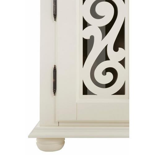 HOME AFFAIRE buffet bas Arabeske, avec de belles moulures décoratives sur les façades des portes, largeur 160 cm