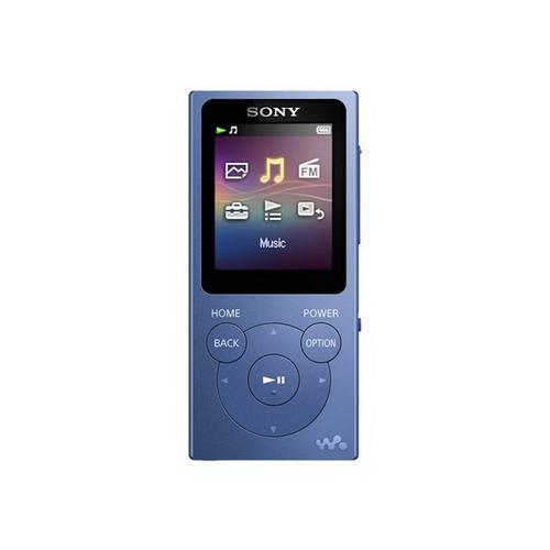 SONY Walkman NW-E394 - Digitale speler 8 GB blauw
