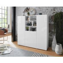 TRENDMANUFAKTUR meuble haut Aksel, largeur 132,4 cm