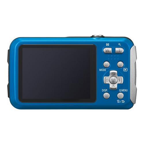 PANASONIC Lumix DMC-FT30 - Digitale camera compact 16.1 MP 720p / 25 beelden per seconde 4x optische zoom onder water maximaal 8 meter blauw