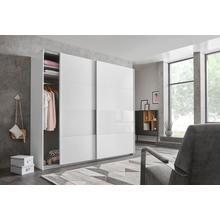 WIMEX kast met zwevende deuren Bramfeld, glaselementen en extra losse planken
