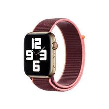 APPLE 44mm Sport Loop - Bracelet de montre pour intelligente taille Regular lie-de-vin Watch (42 mm, 44 mm)