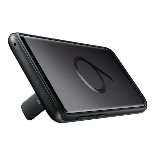 SAMSUNG Protective Standing Cover EF-RG965 - Achterzijde behuizing voor mobiele telefoon zwart Galaxy S9+, S9+ Deluxe Edition