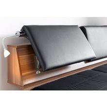BRECKLE lit futon, avec appuie-tête réglable et tiroirs coulissants