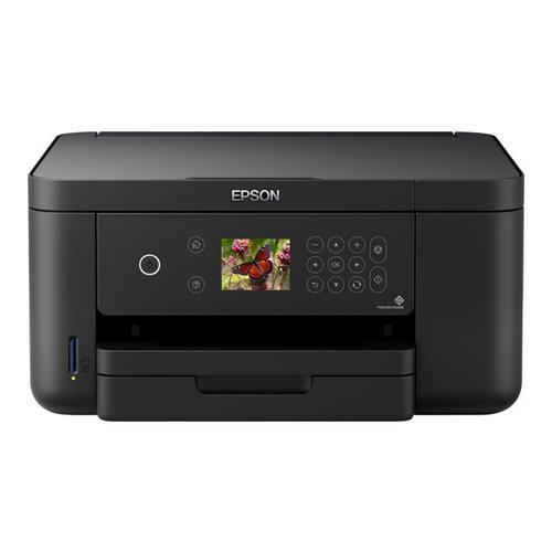 EPSON Expression Home XP-5105 - Multifunctionele printer kleur inktjet A4 (doorsnede) maximaal 33 ppm (printend) 150 vellen USB, Wi-Fi(n) zwart